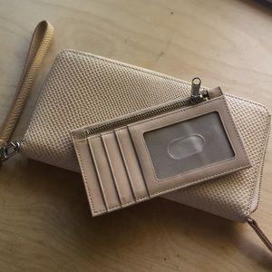 Halogen Wallet + Wristlet